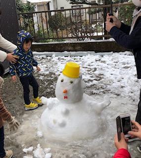 雪だるま と遊ぼう